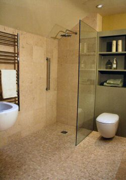 Wet rooms and walk-in shower